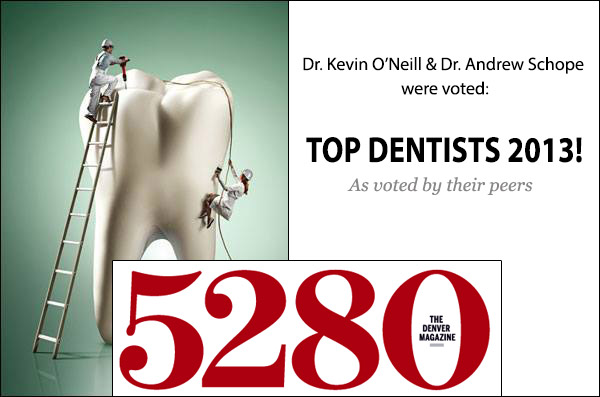 Dr. O'Neill and Dr. Schope are top Centennial dentists.
