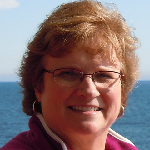 Team member photo of Carol outside - Treatment Coordinator