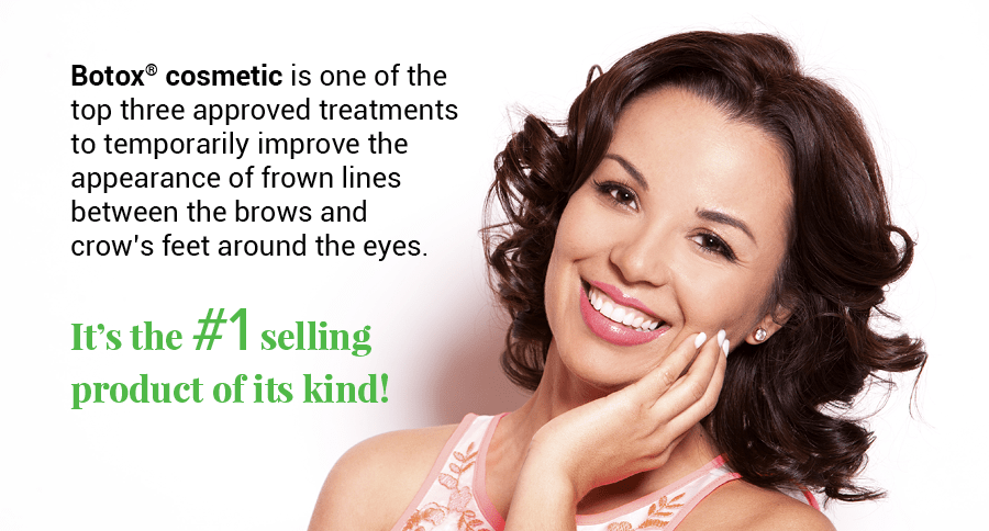 Woman smiling and holding hand to her face show how cosmetic Botox® in Centennial, CO can improve your smile.