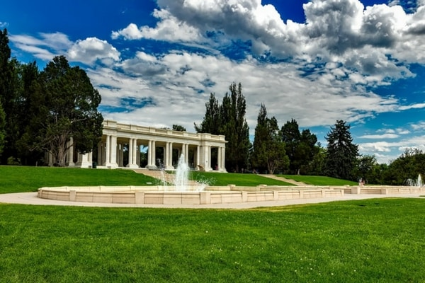 Image of building in Cheesman Park, Denver, Colorado