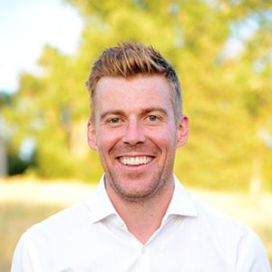 Your Centennial dentist, Dr. Andrew Cote, smiling.