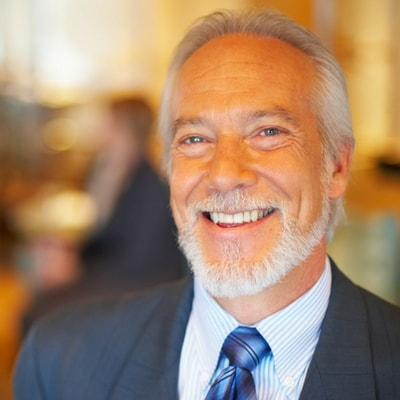 Dentist Highlands Ranch - man happy with his full mouth rehabilitation