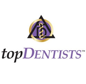USA Top Dentists logo - awarded to Dr. Andrew Schope and Dr. Kevin O'Neill